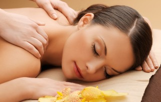 massage at salon