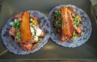 Bartaco Mosaic Transports Patrons to the Beach