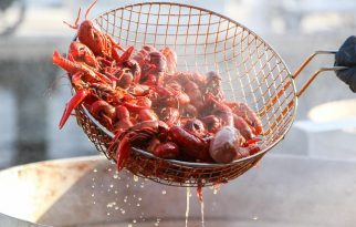 Devour a Crawfish Feast at Chasin' Tails