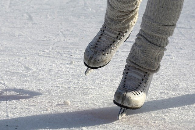 Practice Your Figure-Eights at Pentagon Row's Outdoor Ice Skating Rink